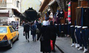 سوق في دمشق القديمة (الوطن)