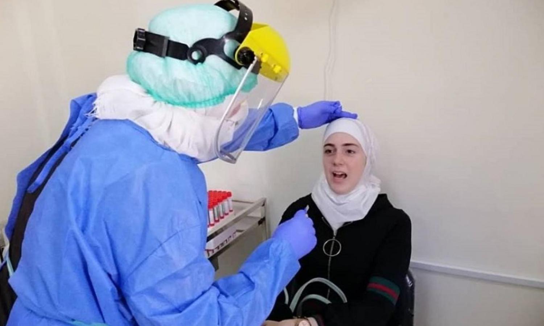 """فحص """"كورونا"""" في سوريا (وزارة الصحة السورية)"""