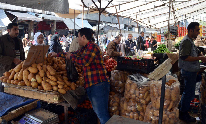 سوق الهال في سوريا (تلفزيون الخبر)