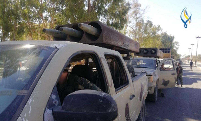 تعزيزات قوات النظام إلى درعا - 20 آب 2021 (سما)