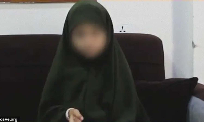 الطفلة الأمريكية، أمينة محمد، 8 أعوام، 2من آب (icsve)