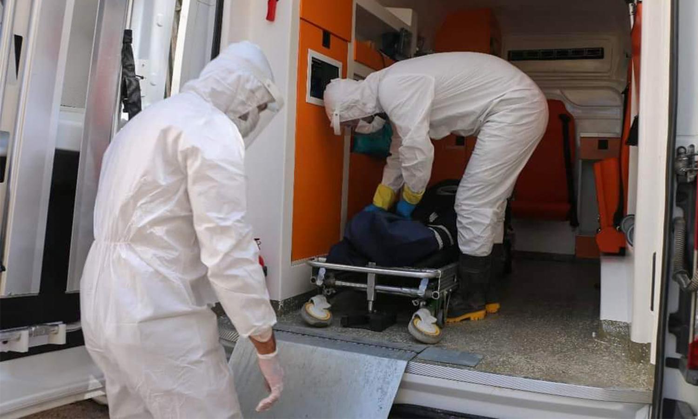 """""""الدفاع المدني السوري"""" ينقل ضحايا ومصابي فيروس """"كورونا"""" الاثنين 27 من أيلول(الدفاع المدني)"""