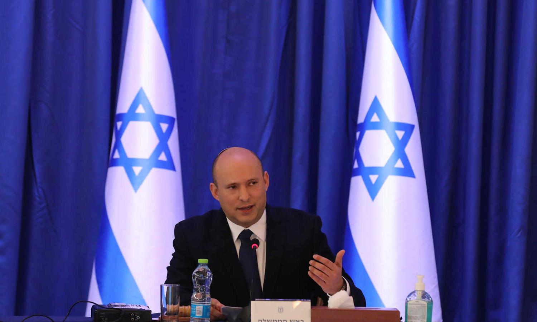 رئيس الوزراء الإسرائيلي نفتالي بينيت(AFP)