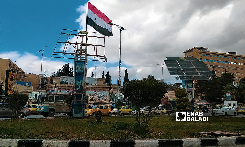 ساحة جامعة حلب - 18 تموز 2021 ( عنب بلدي / صابر الحلبي )