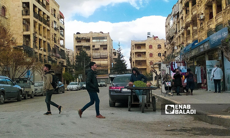 منطقة الأعظمية في مدينة حلب - 18 تموز 2021 ( عنب بلدي / صابر الحلبي )