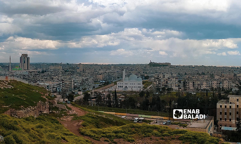 منطقة الإذاعة في مدينة حلب - 18 تموز 2021 ( عنب بلدي / صابر الحلبي )