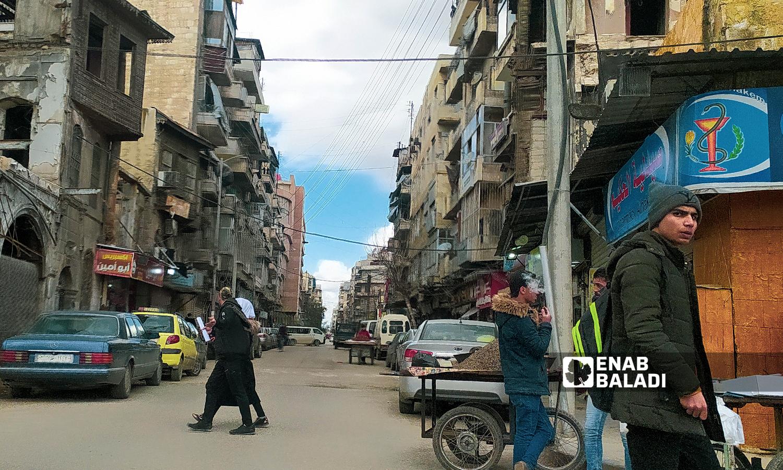 حي العزيزية في مدينة حلب - 18 تموز 2021 ( عنب بلدي / صابر الحلبي )