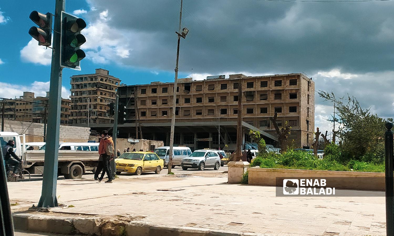 باب حنين في مدينة حلب - 18 تموز 2021 ( عنب بلدي / صابر الحلبي )