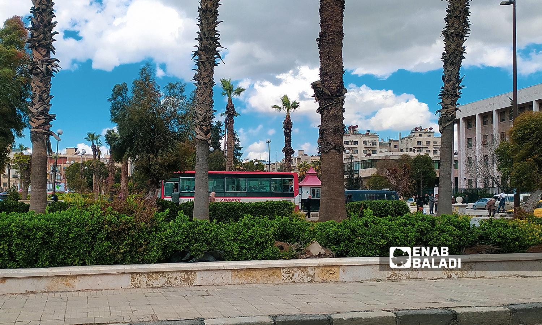 حديقة  جانب منطقة المنشية الجديدة مدينة حلب - 18 تموز 2021 ( عنب بلدي / صابر الحلبي )