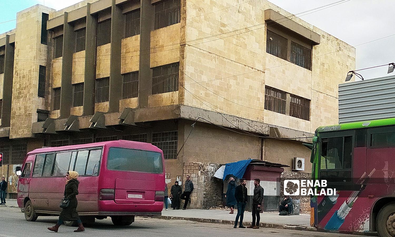 مدرسة بالقرب من حي الرازي في مدينة حلب - 18 تموز 2021 ( عنب بلدي / صابر الحلبي )
