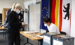 """انطلاق الانتخابات التشريعية في ألمانيا، 2021، """"الأناضول""""."""