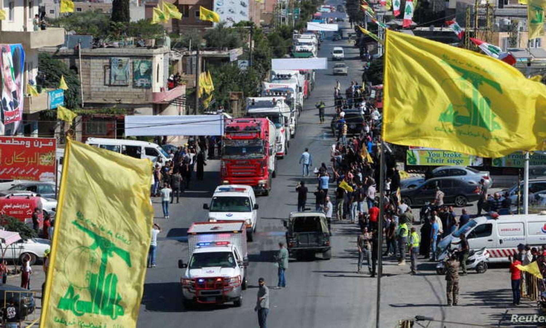 وصول صهاريج محملة بالوقود الإيراني إلى لبنان عبر سوريا، رويترز ،2021.