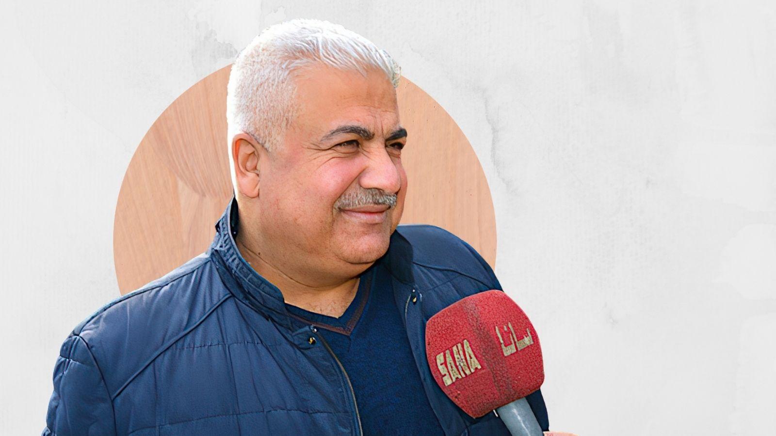 """المدير السابق لـ """"المؤسسة السورية للتجارة""""، أحمد نجم (تعدبل عنب بلدي)"""