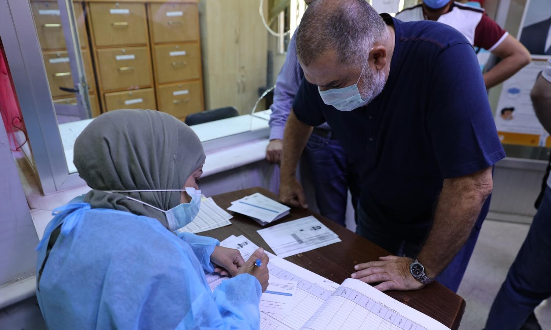 """التطعيم ضد """"كورونا"""" في سوريا (وزارة الصحة السورية)"""