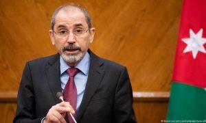 """وزير الخارجية الأردني، أيمن الصفدي، 2021، وكالة """"DW""""."""