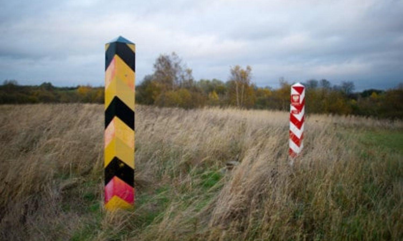 الحدود الألمانية- البولندية، 2021 (DPA)