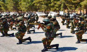 عناصر من جيش النظام السوري 6 تشرين الأول 2021 (الوكالة السورية للأنباء سانا)
