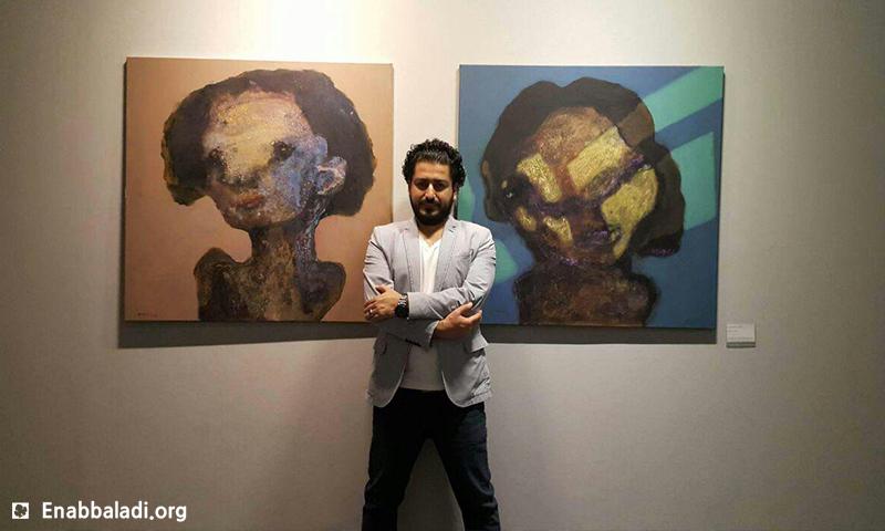 Artist Hossam Aloom in Istanbul exhibition – Wednesday 25th of May (Enab Baladi)