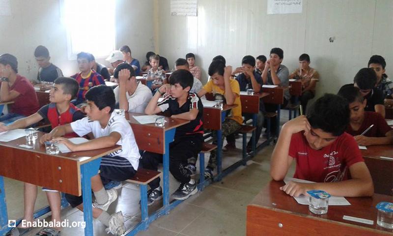 Primary Schools in the city of Qamishly – May 2016 (Enab Baladi)