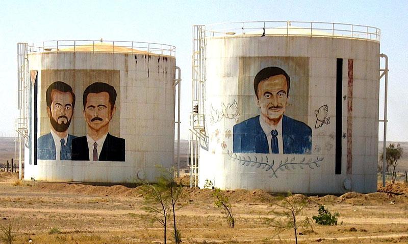 "Photos showing the Syrian President Bashar Al Assad in the ""Self-Dense"" Militia Camp, November, 20th, 2015 (Novosti)"