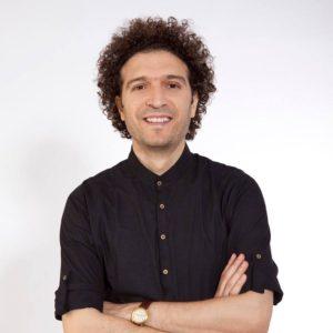 The artist Salah Amo