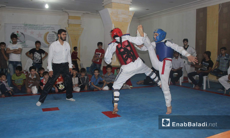 Al-Ghouta sports festival in Damascus, October 2016 (Enab Baladi)