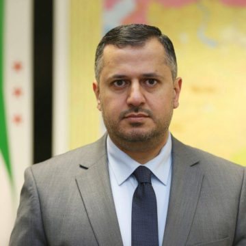 Yahya Maktabi, responsible for unions and federations in the Syrian National Coalition