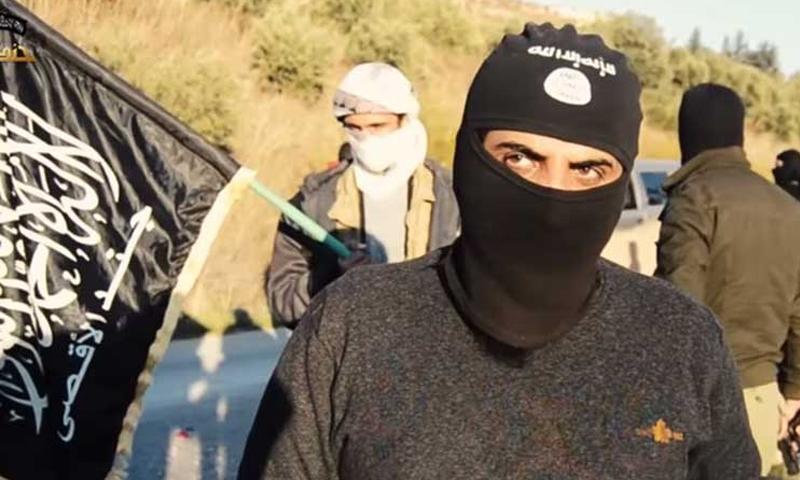Fighters from Jund al-Aqsa (Internet)