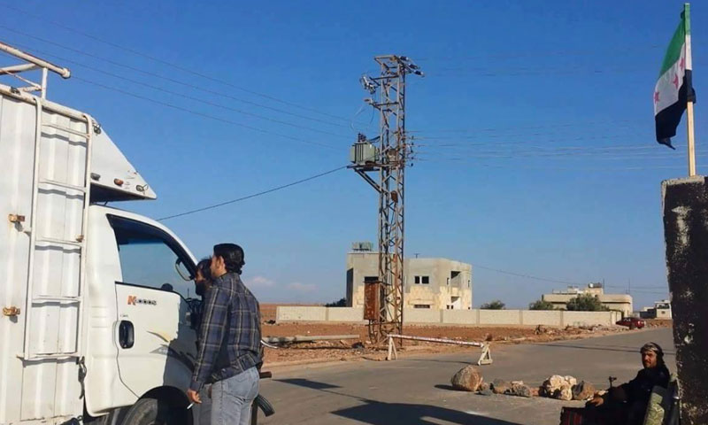 opposition checkpoint in Daraa (Internet)