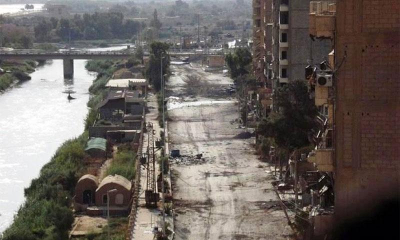 The city of Deir ez-Zor in eastern Syria (Internet)
