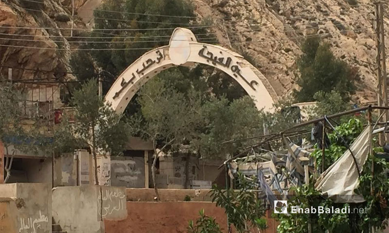 The village of Ein al-Fija in the Wadi Barada area in Damascus' rural outskirts (Enab Baladi Archives)