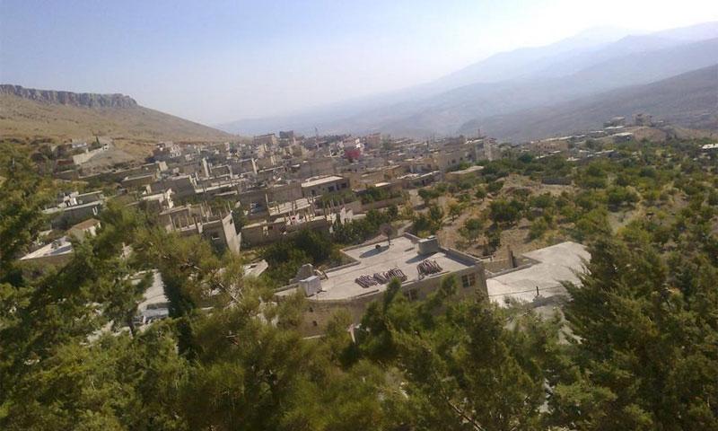 The village of Ein al-Fija in Wadi Barada in Damascus' rural outskirts (Enab Baladi Archives)
