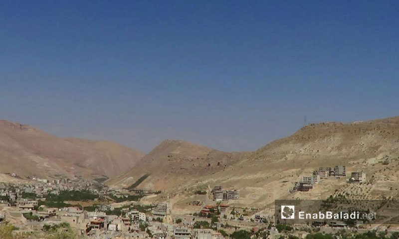 Villages in Wadi al-Barada in Damascus' western outskirts, 1 December 2016 (Enab Baladi)