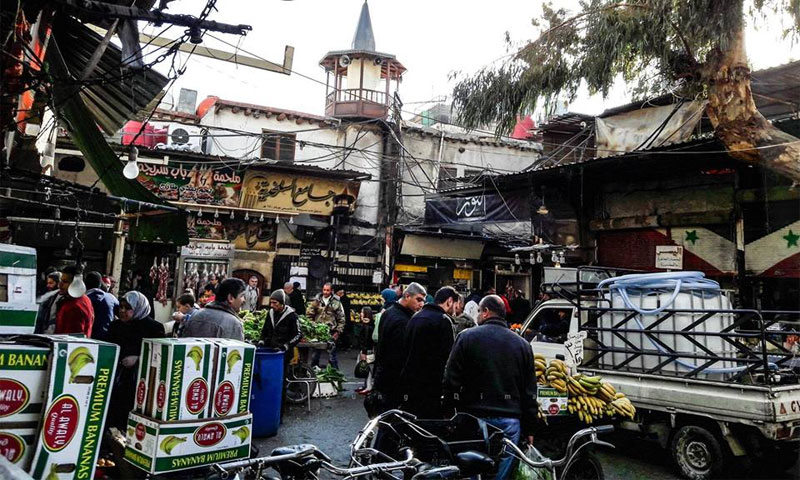 Srija market in Damascus, 14 January (taken by a young man from Damascus)