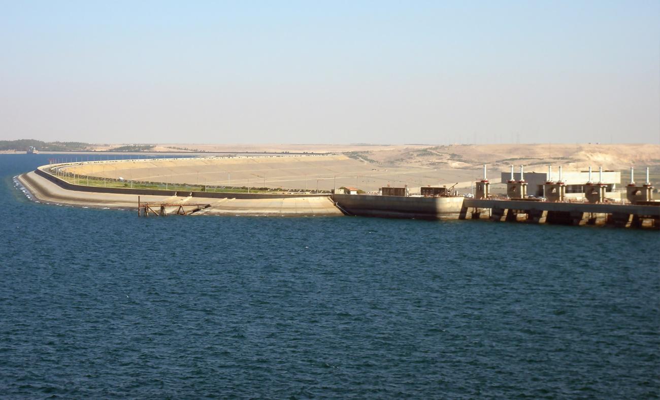 Euphrates Dam Lake (Internet)