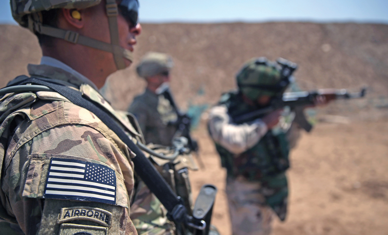 US infantry forces in Iraq (Getty)