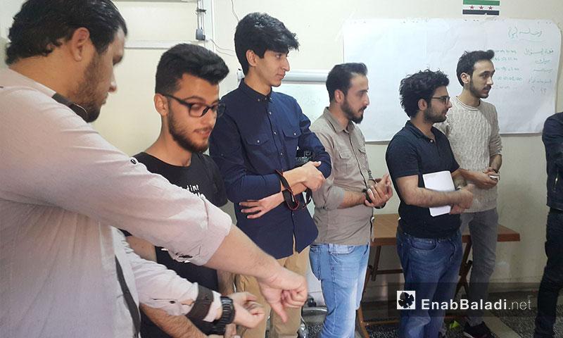 """""""Bedayat Lahn"""" band Workshop in the Turkish Urfa- April 27, 2017 (Enab Baladi)"""