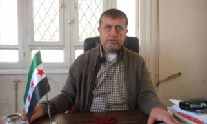 Mohammed Firas al-Jundi, the Minister of Health in the Syrian Interim Government