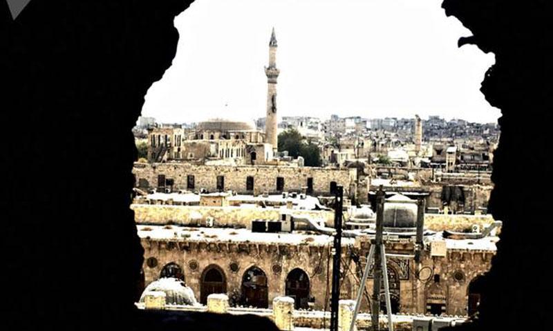 The Old City of Aleppo - 9 March 2016 (Sputnik)