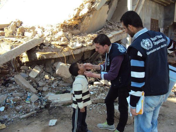 Immunization Campaign for Deir ez-Zor Children - June 2017 (WHO)