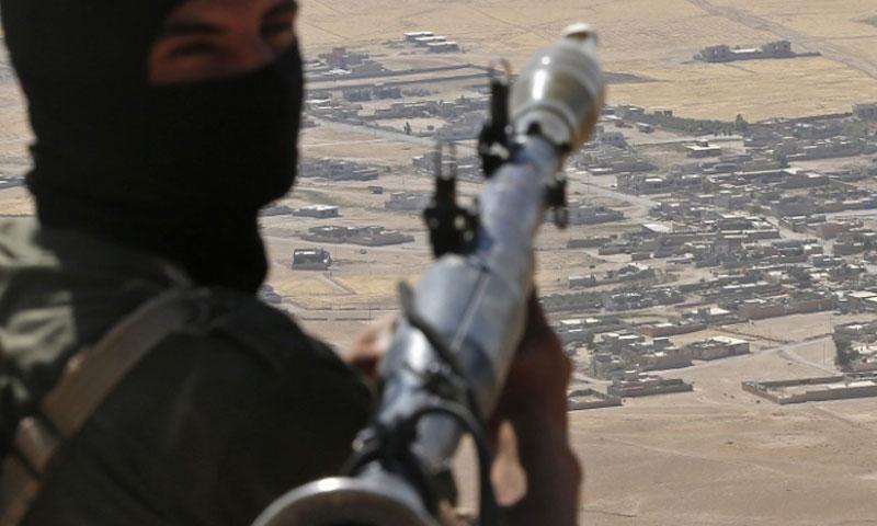 Fighter belonging to ISIS (agencies)