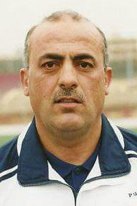 Abdul Qader Abdul Hayy, former player of the Syrian national team and the Al-Ittihad FC Aleppo
