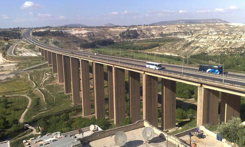 Al-Rastan Bridge in Homs (Internet)