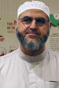 Ahmad Hawwa the Spokesperson of the Syrian Islamic Council