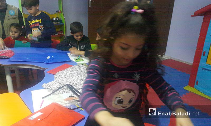TarhUm 2 Community Center in Urfa- 27 October 2017 (Enab Baladi)