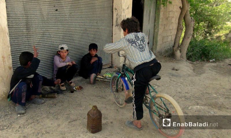 Al-Husayniyah village in Deir ez-Zor - 2013 (Enab Baladi Archive)