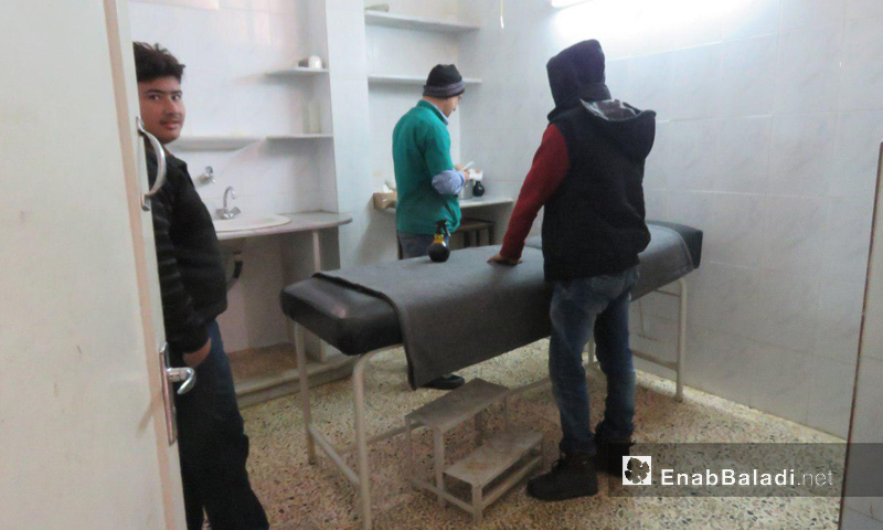 Tell Dahab Hospital in the northern countryside of Homs - January 2018 (Enab Baladi)