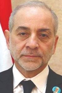 Lebanese Minister of Refugees Affairs Moeen al-Marabi