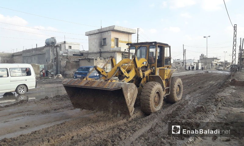 Band-aid solutions to reform the roads of Dabiq town in Northern Aleppo – 5 February 2018 (Enab Baladi)