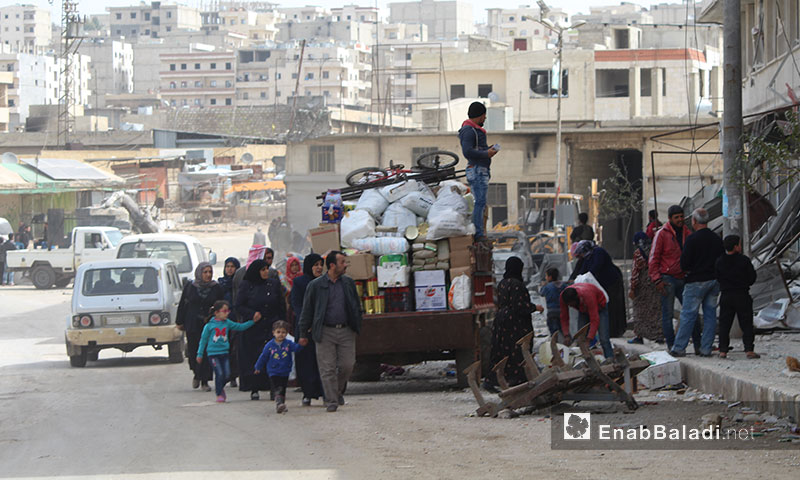Life gradually returns to the city of Afrin – March 22. 2018 (Enab Baladi)